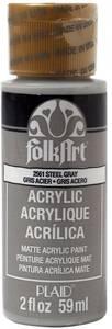 Bilde av FolkArt - Acrylic Paint - 2561 - Steel Gray 2oz