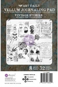 Bilde av Finnabair - 968441 - Art Daily - Vintage Stories Vellum Pad