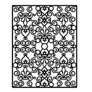 Bilde av Spellbinders - Impressabilities - I2-1006 - Floral and Stone