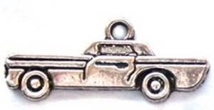 Bilde av Charms - Bil - Sølv - 8 stk