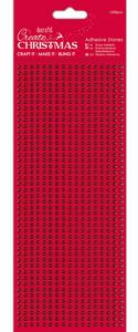 Bilde av Docrafts - Papermania - Adhesive Stones - 3mm - Red - 1530 stk