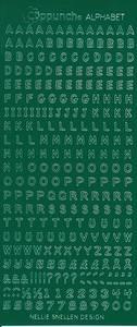Bilde av Nellie Snellen - Stickers - Alphabet - 2231 - Green