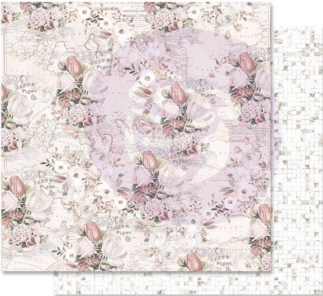 Prima - 848941 - 12x12 - Lavender Frost - The Road To You