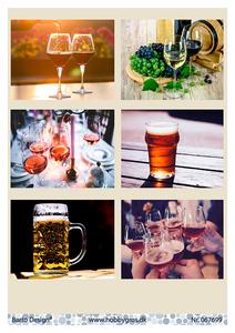 Bilde av Barto Design - Klippeark A4 - 067699 - Drinks