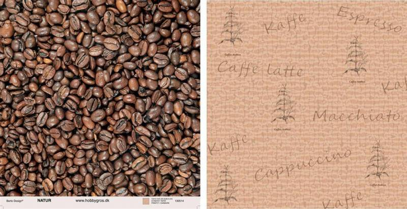 Barto Design - 12x12 paper -130514 - Natur - Kaffe