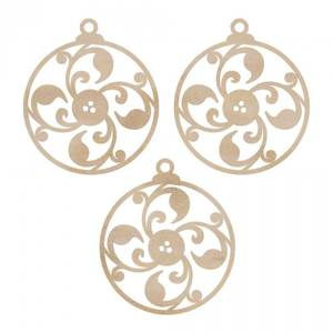 Bilde av KAISERCRAFT - WOODEN FLOURISHES FL450 - FANCY ORNAMENTS
