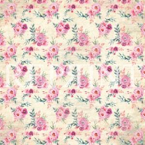 Bilde av Reprint - 12x12 - RP0328 - Springtime - Big Flowers