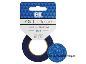 Bilde av BC - Glitter Tape - 15mm x 5m - 004 - Blue