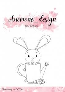Bilde av Anemone_design - Clearstamp - ADC036 - Kanin
