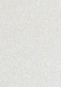 Bilde av Hobby and Crafting Fun - Mosegummi - A4 - 2mm - Glitter Hvit