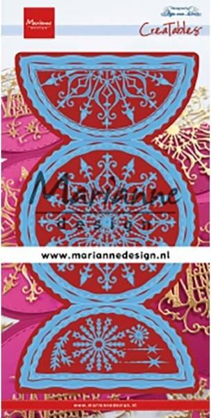 Marianne Design - Creatables - LR0618 - Anja's Folding Circle XL