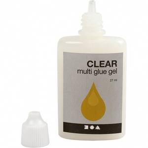 Bilde av Creotime - Clear Multi glue gel - 27ml