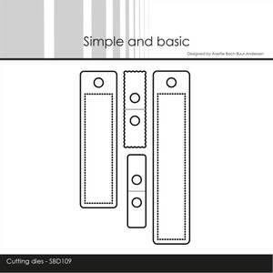 Bilde av Simple and basic - Dies - SBD109 - Small Labels