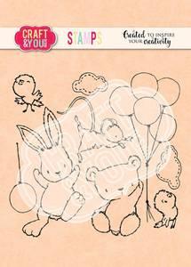 Bilde av Craft & You - Clearstamps - CS012 - Easter set 1