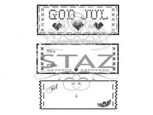 Bilde av Staz Stempelsett - Til & Fra