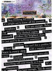 Bilde av Studiolight - Sticker pad - Jenine's Mindful Art - Time to relax