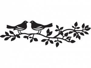 Bilde av Marianne Design - Craftables dies - CR1264 - BIRDS SILHOUETTE