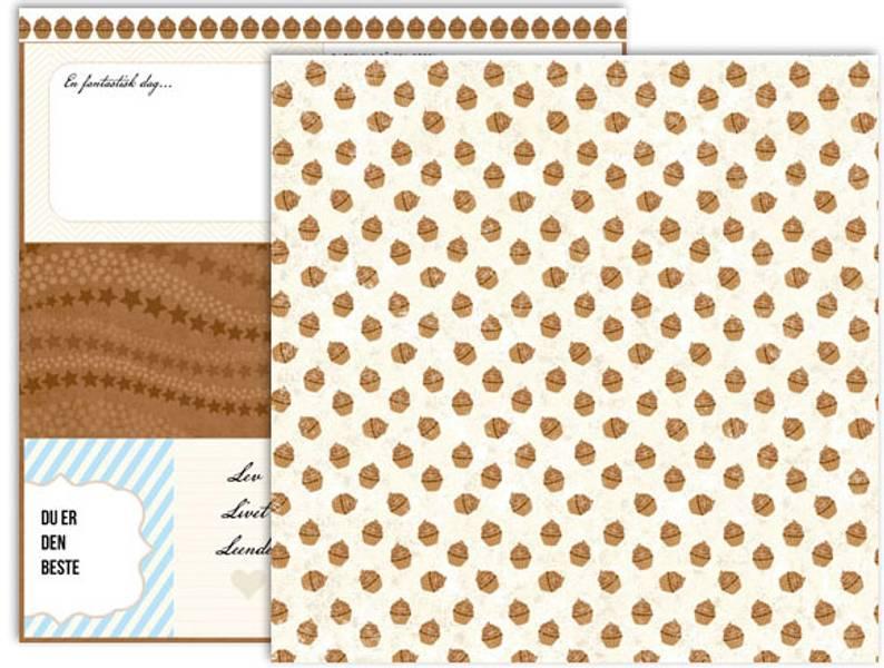 Papirdesign PD14912 - Marias verden - Sjokolademuffins