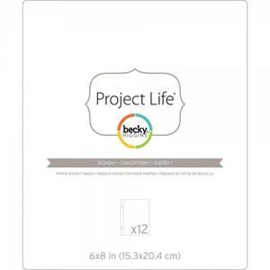 Bilde av Project Life - 380289 - Photo Pocket Pages - 6x8 - DESIGN 1