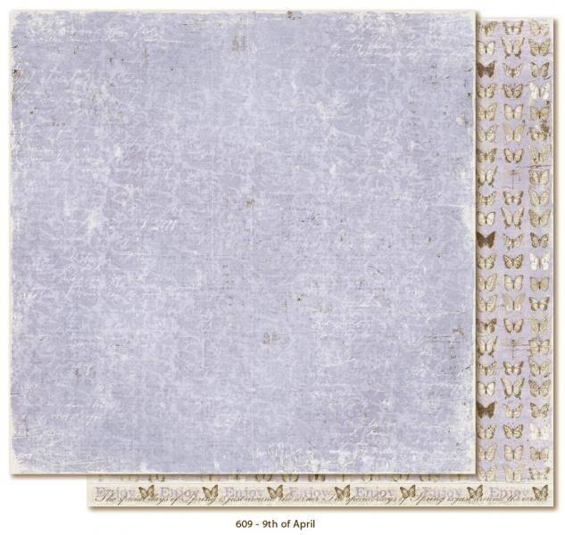 MAJA DESIGN - VINTAGE SPRING BASICS 609 - 9TH OF APRIL