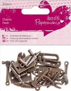 Bilde av Papermania - 356013 - Charm Pack - Tools - 21 stk