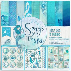 Bilde av Little Birdie - 12x12 Paper Pack - Songs of the Sea