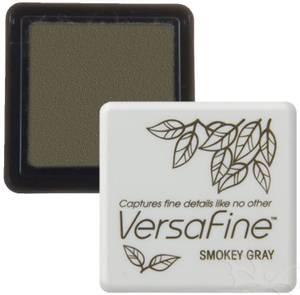 Bilde av Tsukineko - VersaFine - Pigment Mini Ink Pad - 83 - Smokey Gray