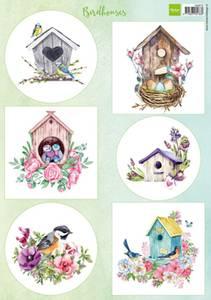 Bilde av Marianne Design - Klippeark VK9573 - Birdhouses - spring