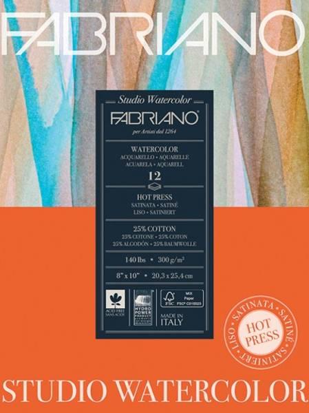 Fabriano - Watercolour - 300g HP - 229x305mm - 50 ark