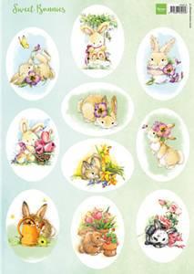 Bilde av Marianne Design - Klippeark VK9575 - Sweet Bunnies
