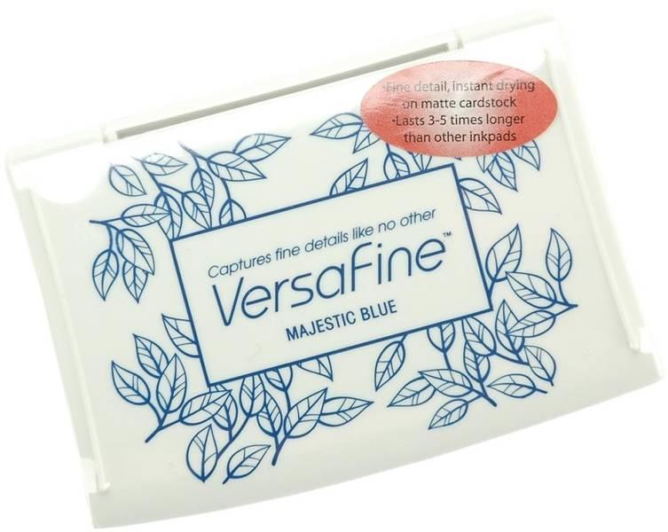 Tsukineko - VersaFine - Pigment Ink Pad - 18 - Majestic Blue