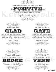 Bilde av Kort & Godt - M-210 - Tenk positive tanker