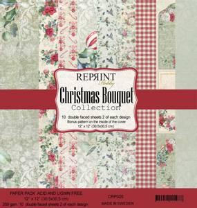 Bilde av Reprint - 12x12 - CRP026 - Christmas Bouquet Collection Pack