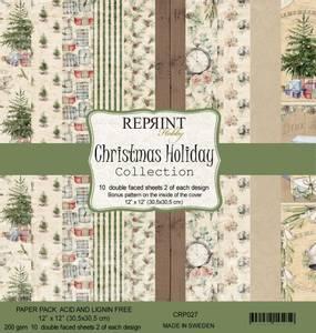 Bilde av Reprint - 12x12 - CRP027 - Christmas Holiday Collection Pack