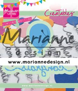 Bilde av Marianne Design - Creatables - LR0626 - Congrats & Balloon
