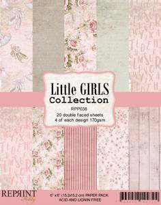 Bilde av Reprint - 6x6 - RPP038 - Little Girls Collection pack