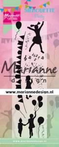 Bilde av Marianne Design - CS1038 - Clearstamp - Silhouette Party