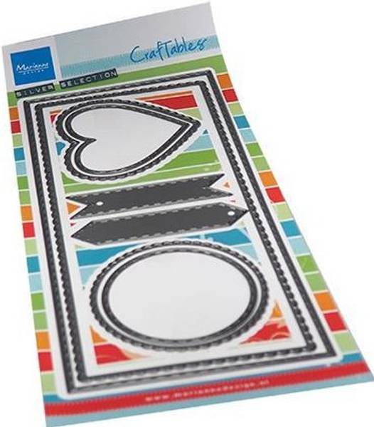 Marianne Design - Craftables dies - CR1538 - Slim line banners