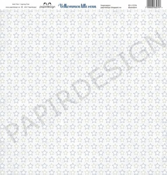 Papirdesign PD17274 - Velkommen lille venn - Øyenstein