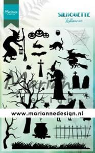 Bilde av Marianne Design - CS103 - Clearstamp - Silhouette Halloween