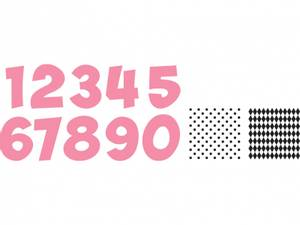 Bilde av Marianne Design - Collectable dies - COL1347 - Tall m/stempel