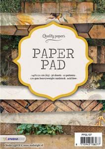 Bilde av Studiolight -  107 - PaperPad 14,8x21cm - PPSL107