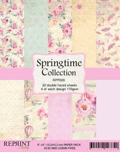 Bilde av Reprint - 6x6 - RPP029 - Springtime Collection pack