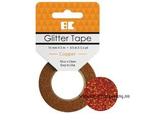 Bilde av BC - Glitter Tape - 15mm x 5m - 005 - Copper