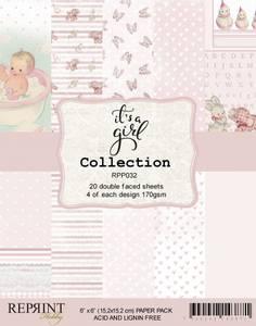Bilde av Reprint - 6x6 - RPP032 - It´s a Girl Collection pack