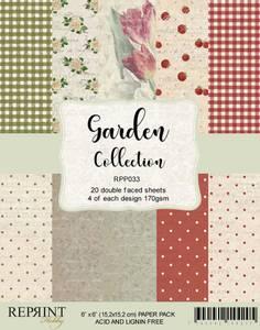 Bilde av Reprint - 6x6 - RPP033 - Garden Collection pack