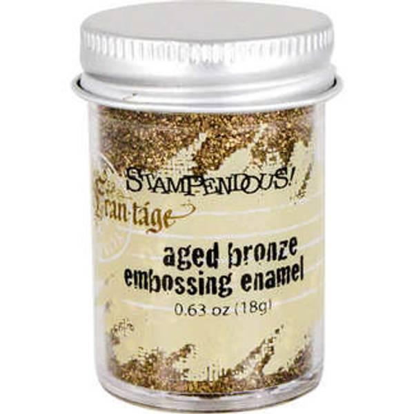 Stampendous - Fran-Tage - Embossing enamel - AGED BRONZE