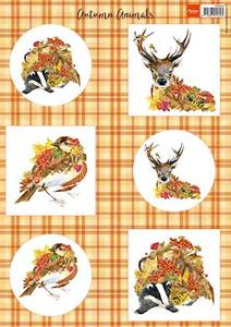 Bilde av Marianne Design - Klippeark VK9545 - Autumn Animals - Deer