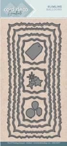 Bilde av FIT - Dies - CDECD0057 - Card Deco Essentials - Slimline Balloon