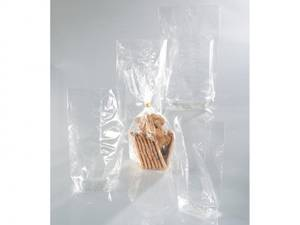 Bilde av Cellofanpose med bunn - 282 - Klar - 145x235mm - 10stk